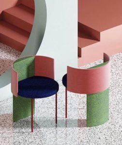 mobilier couleur restaurant