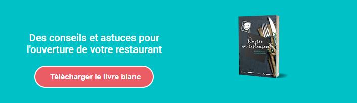 Livre blanc ouvrir un restaurant