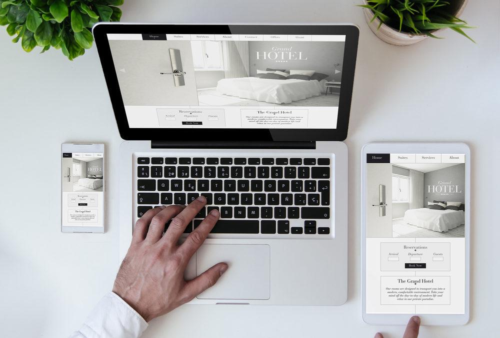 Hôtel : Comment avoir un site web design et rentable ?