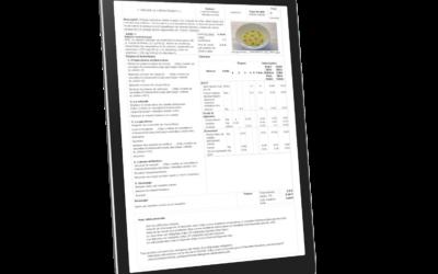 LIVRE BLANC – Fiche technique de cuisine PDF