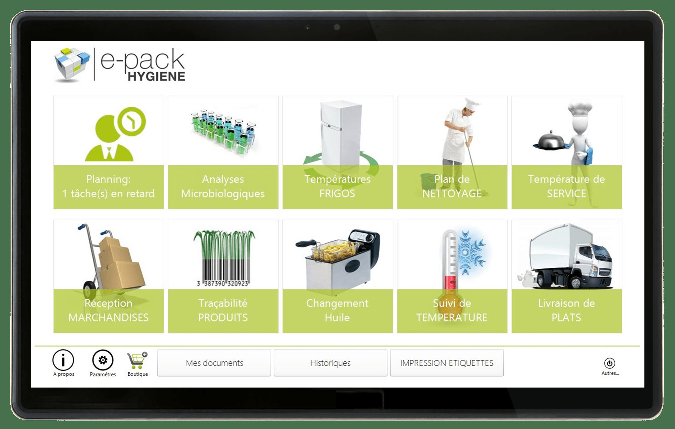 epack-hygiene-interface